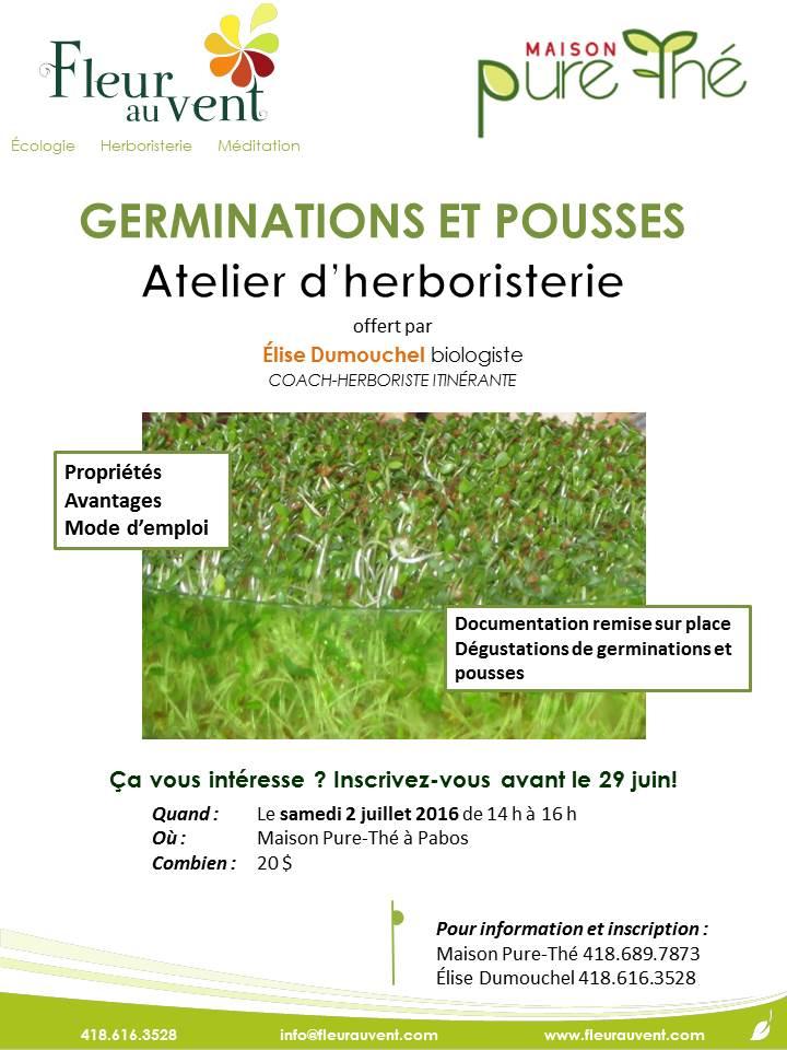 affiche germinations 2 juillet 2016
