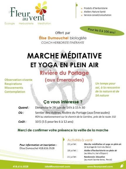 affiche marche méditative 28 juin 2015