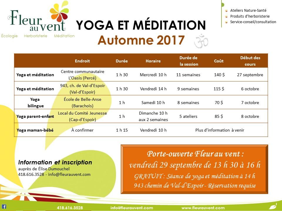 affiche yoga+méditation A2017