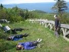 4e belvédère, massif du mont Sainte-Anne